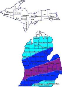 I'm in the Blue!  A solid 7 inches is what they are saying...