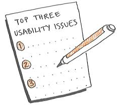 Top Usability Issues