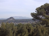 Sainte-Victoire et les terrils