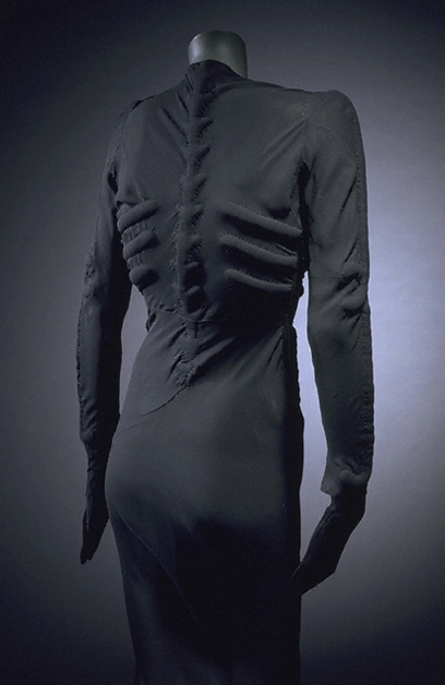 Elsa Schiaparelli, Skeleton — silk, 1938
