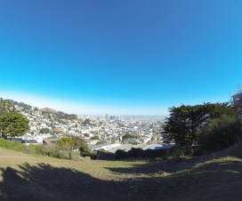 Gorgeous day at Kite Hill