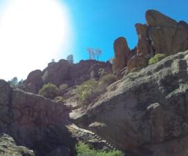 A beautiful day hiking at Pinnacles National Park