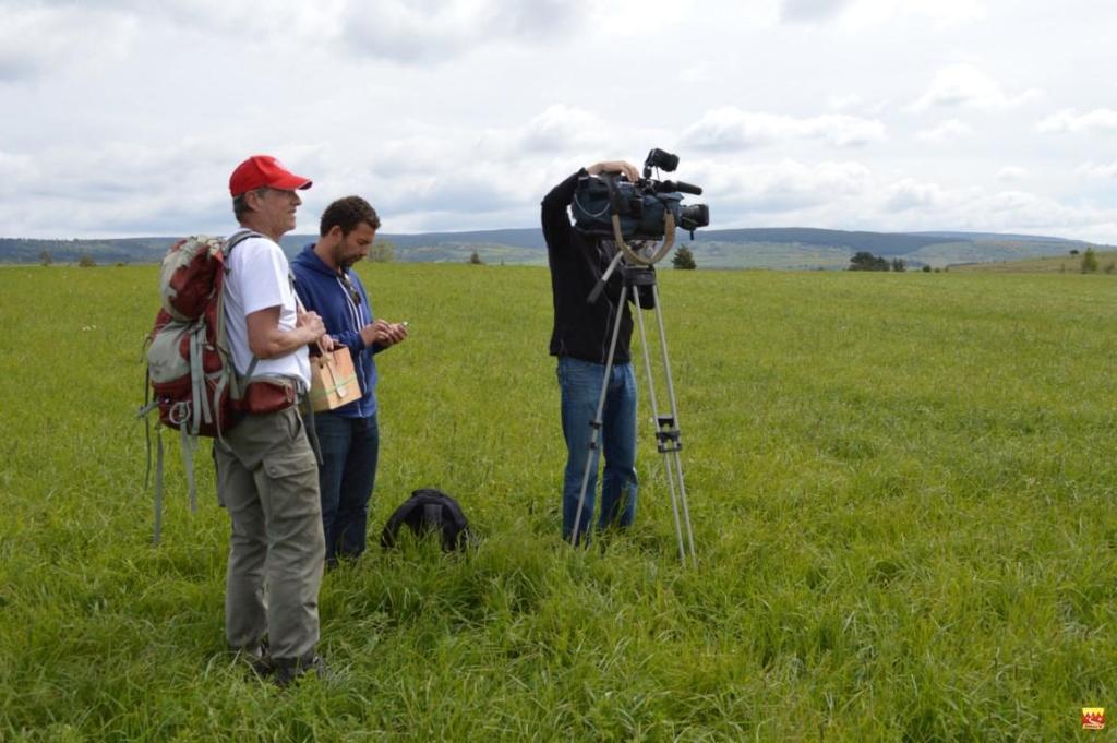 tournage lors du balisage