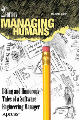 Managing Humans Cover