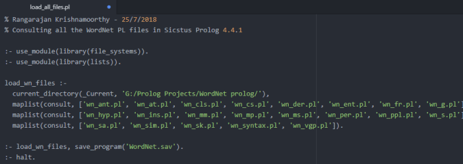 Sicstus Prolog – Building a Windows Executable