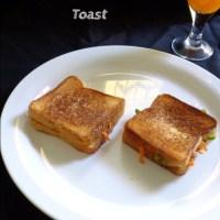 Quick Breakfast Ideas - Cheese Bread Toast