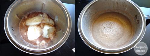 home made milkshake