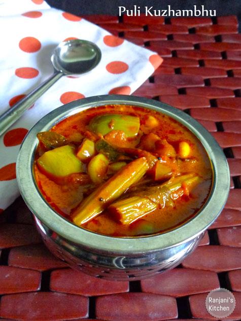 Kara Kuzhambhu | Lunch Recipes