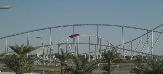 Formula Rossa Roller Coaster 1