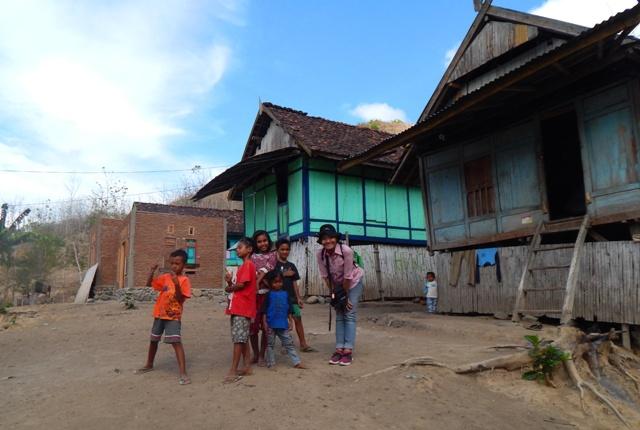 Anak-anak Desa Campa Kabupaten Bima