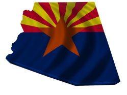 Arizona Flag Map