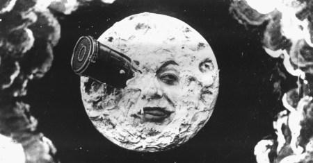"""""""Le voyage dans la lune"""", 1902"""