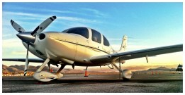 I did fly planes other than the Gulfstream. For example, this nicely equipped SR-22.