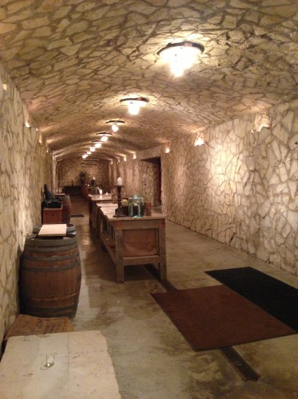 This is only half of the barrel cave.