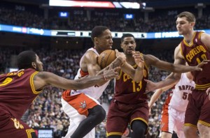 Game Day Preview: Raptors visit Cavaliers in Saturday Showdown