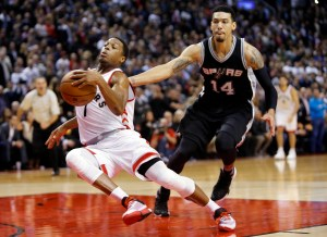 Post Game Report Card: Raptors force way past Spurs