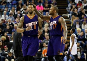 Report [updated]: Toronto Raptors interested in Suns' forwards P.J. Tucker and Markieff Morris