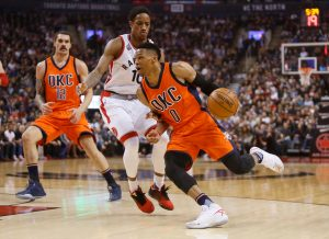 Post Game Report Card: Toronto Raptors get pummelled by Westbrook and Thunder