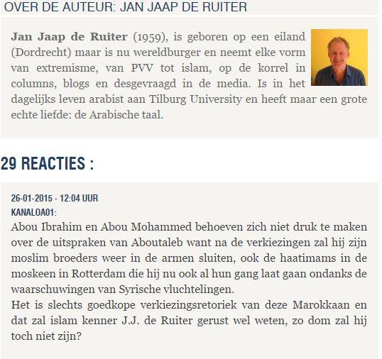 Bericht uit Raqqa: 'Burgemeester Aboutaleb, we willen uw jihadisten hier niet'