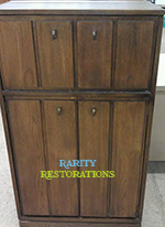 Finding Vintage Pieces - Lane Liquor Cabinet