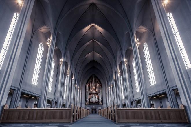 Sound of Hallgrímskirkja church