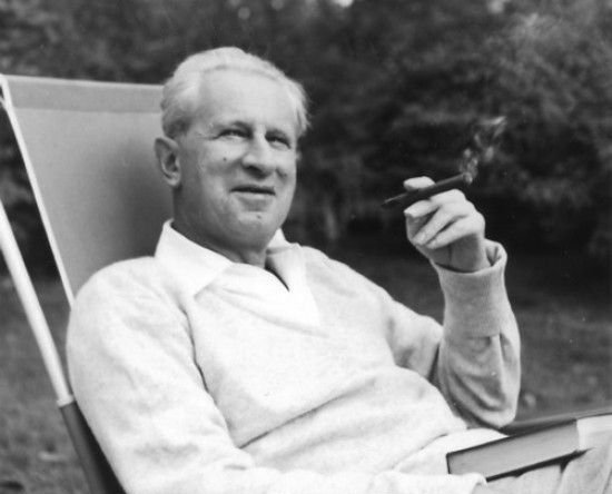 Herbert Marcuse, 1955. Source: Wikimedia Commons.