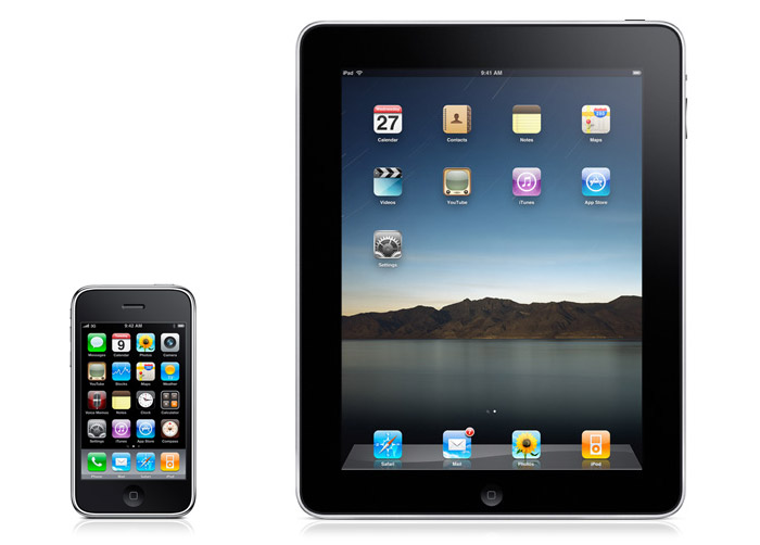 Aplicaciones de iPhone e iPad para clase.