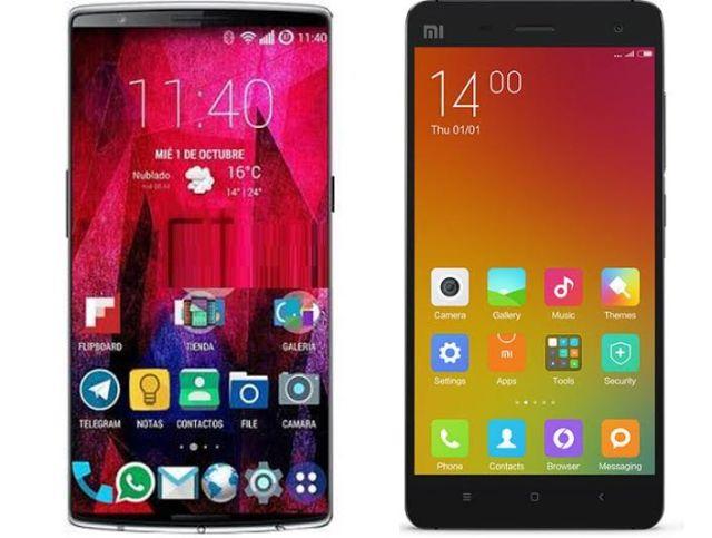 OnePlus-2-vs-Xiaomi-Mi4