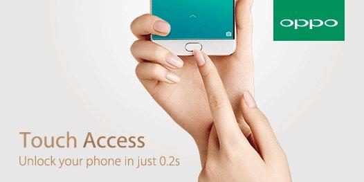 oppo r9 fingerprint sensor
