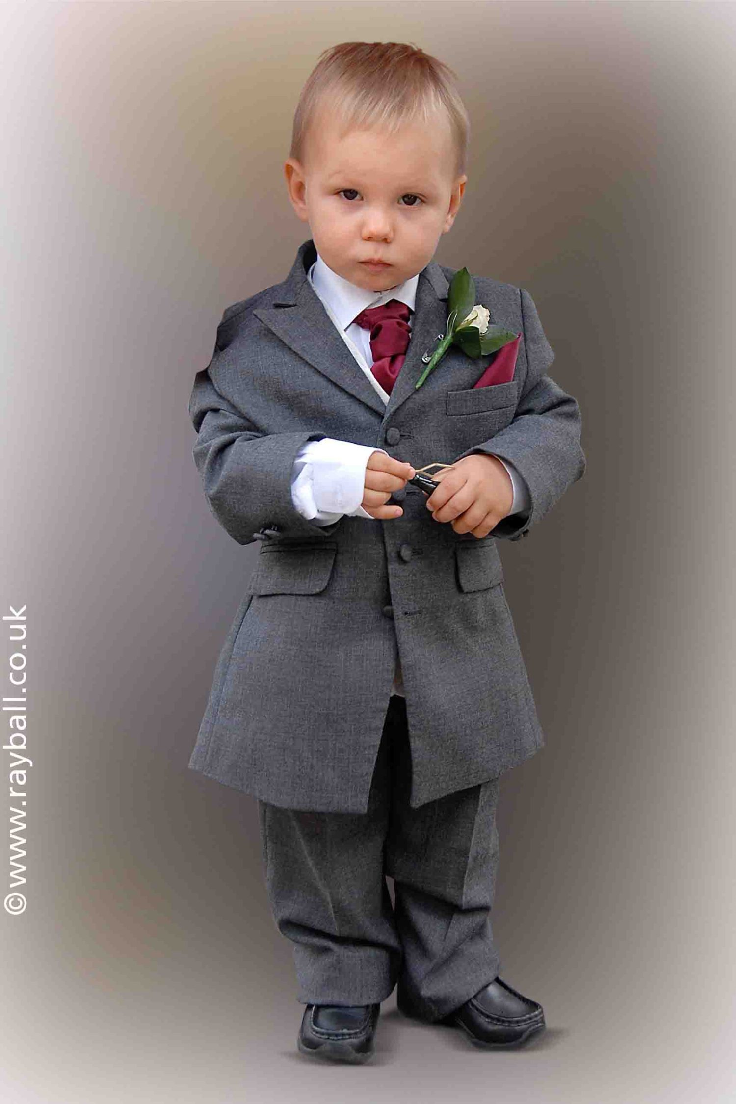 Portrait of a pageboy, Surbiton by Epsom Photography.