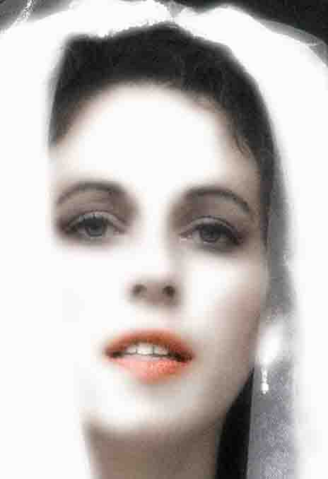 Portrait of Ewell bride at Epsom studio.