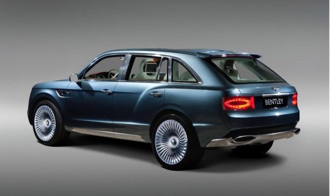 Bentley Exp 9 F Concept de 2012