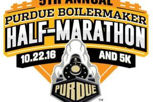 2016 Purdue Half Marathon Water Station