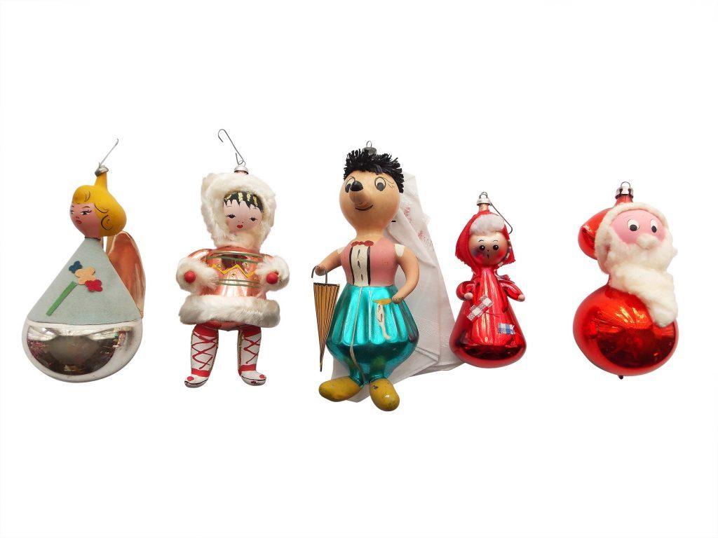 Fullsize Of Vintage Christmas Decorations