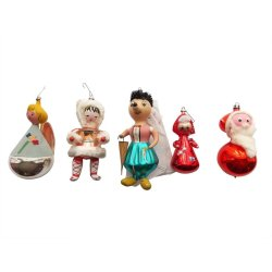 Small Crop Of Vintage Christmas Decorations