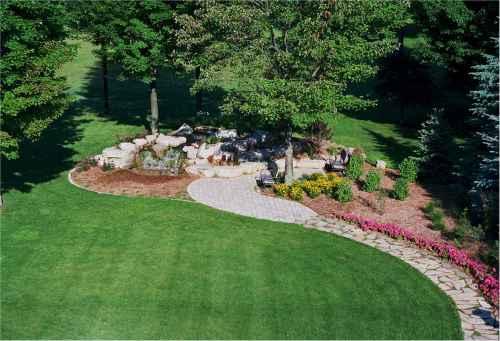 Medium Of Re Landscaping Yard