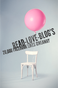 Read-Love-Blog's 20K Facebook Likes Giveaway