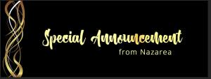Special Announcement from Nazarea Andrews