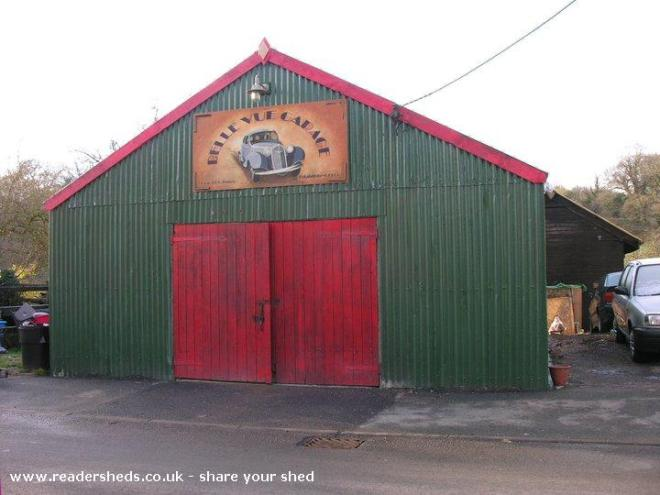 Tin Shed Experience - Andrew Isaacs - Laugharne, West Wales