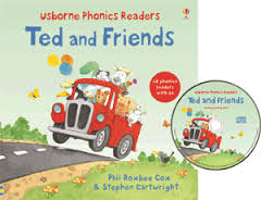 ted and friends usborne phonetic reader combined volume