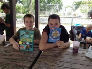 sicm book drive summer lunch