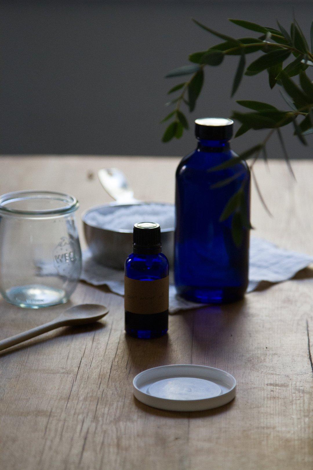 make your own sea salt scrub | reading my tea leaves