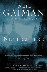 neverwhere authors preferred text by Nail Gaiman