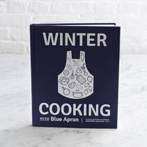 winter cooking with blue apron