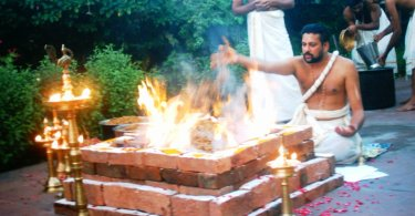 Yajna as a means to increase rainfall and the well-being of Humanity