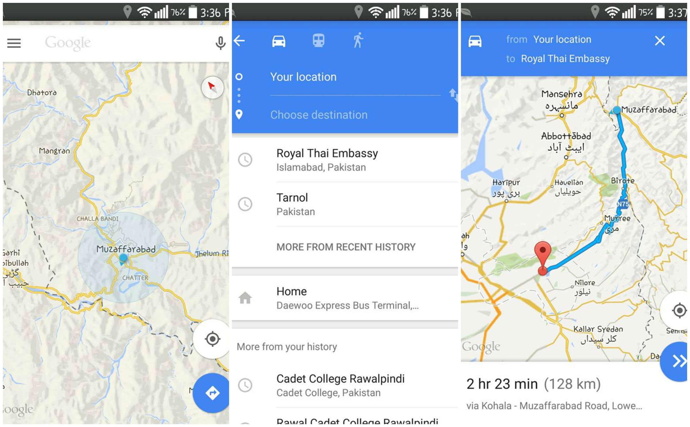 how to get sound on google maps app