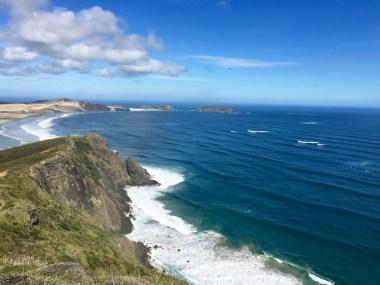 NZ Cape Reinga Coast 1
