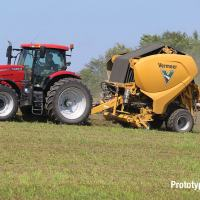 Vermeer Developing First Fully Continuous Round Baler