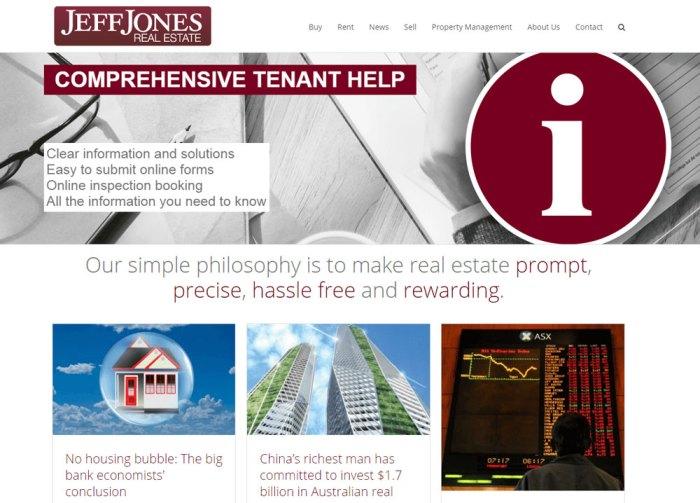 Jeff Jones Real Estate and Property Management Brisbane