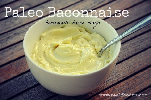 Baconnaise Paleo Baconnaise (homemade bacon mayo)